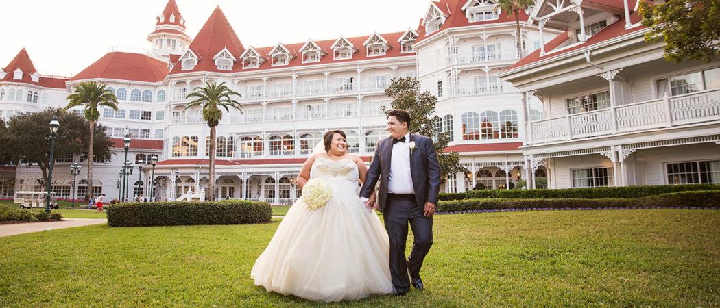 Destiny + Sebastian : Orlando Walt Disney World Wedding Photographer