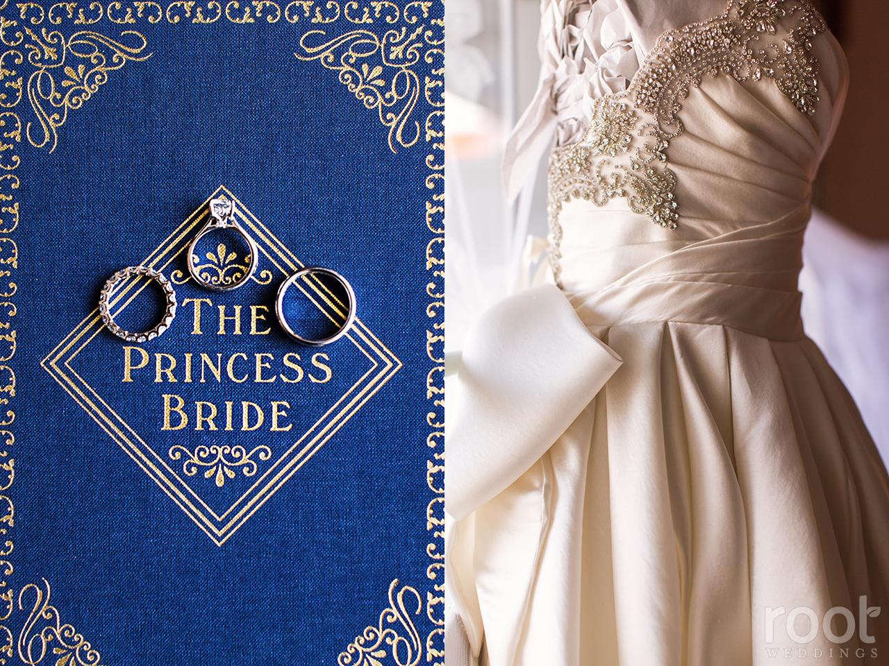 Nicole michael walt disney world wedding for Walt disney wedding dress