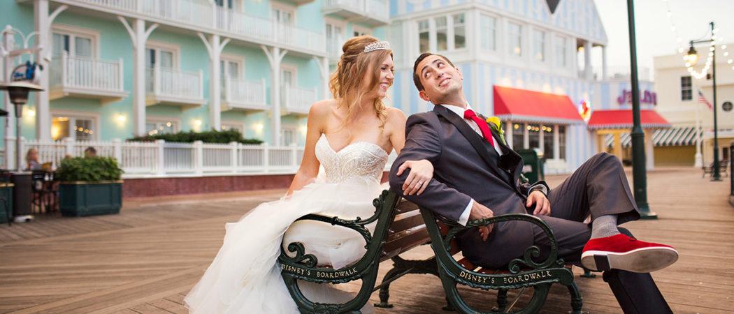 Kait + Brandon : Boardwalk Inn Wedding in Orlando, Florida