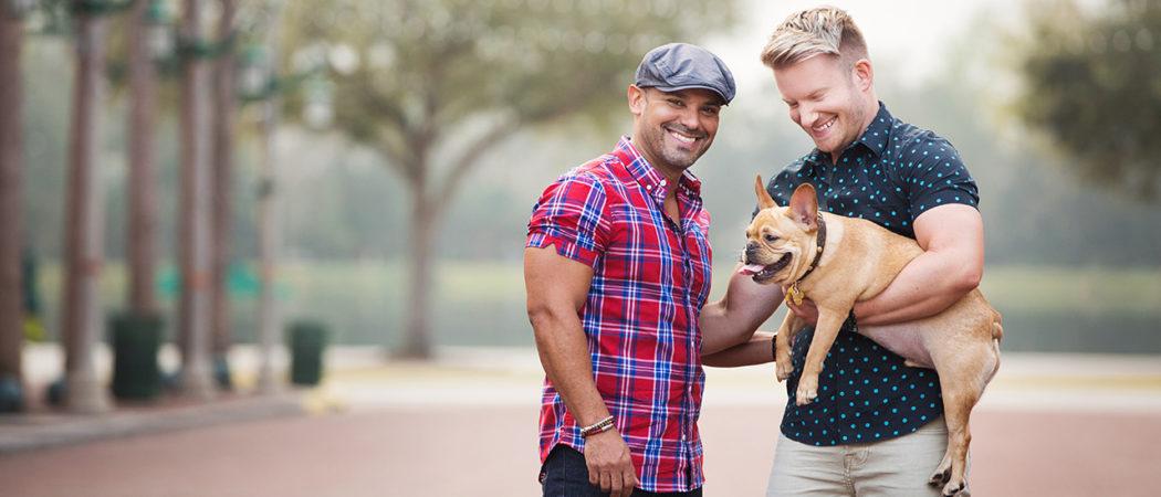 Matthew + Osmar + Bruno : Celebration, Florida Family Session