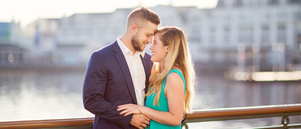 Meredith + Chad : Lilly Inspired Boardwalk Engagement Session