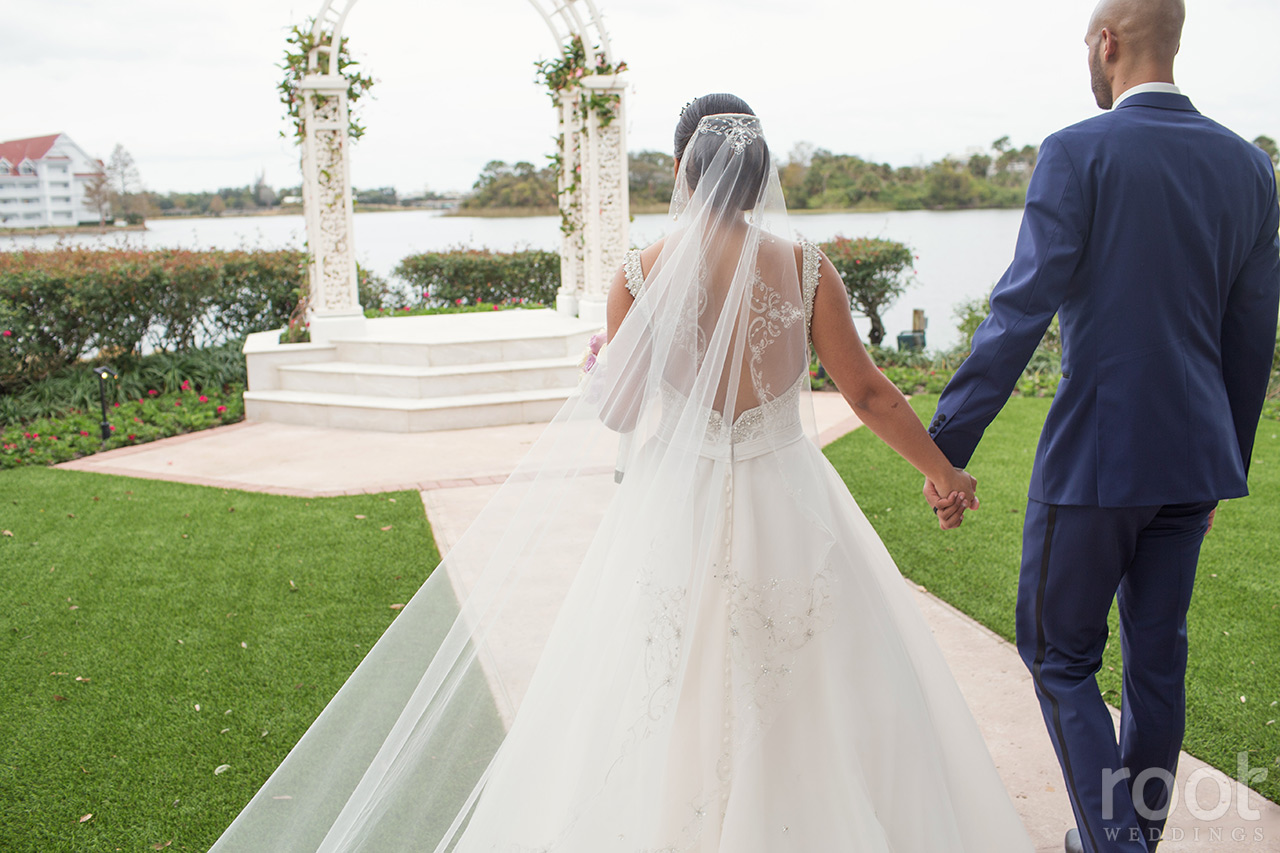 Samantha + Andre : Disney Fairy Tale Wedding at the Grand Floridian