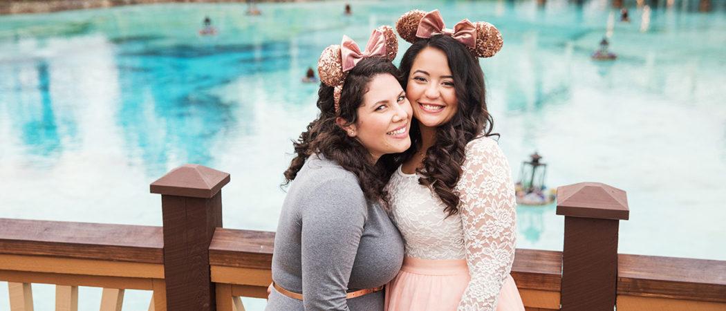 Alexis + Miranda : Disney Springs Engagement Session