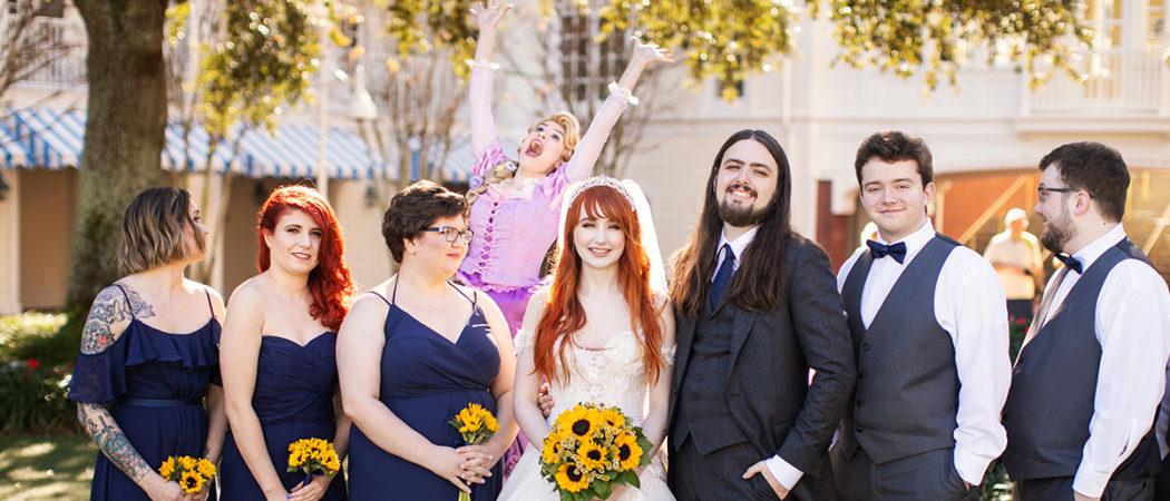Alyssa + Donny : Classic Disney Wedding at the Boardwalk
