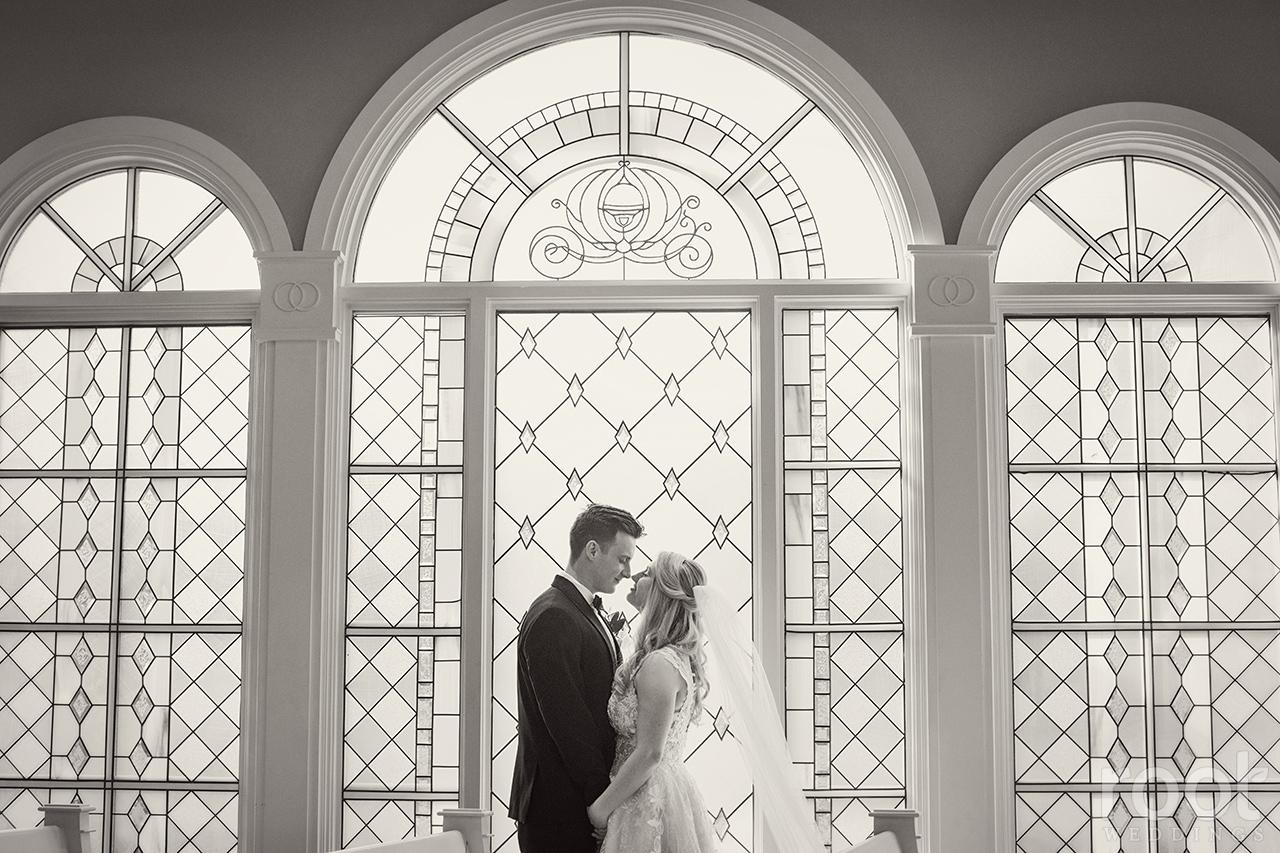 Wedding ceremony at Disney's Wedding Pavilion