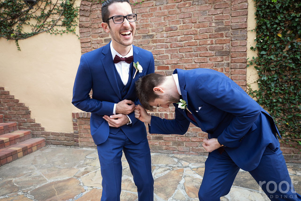 Groomsmen photos at Bella Collina