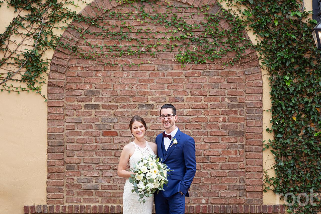 Wedding first look at Bella Collina