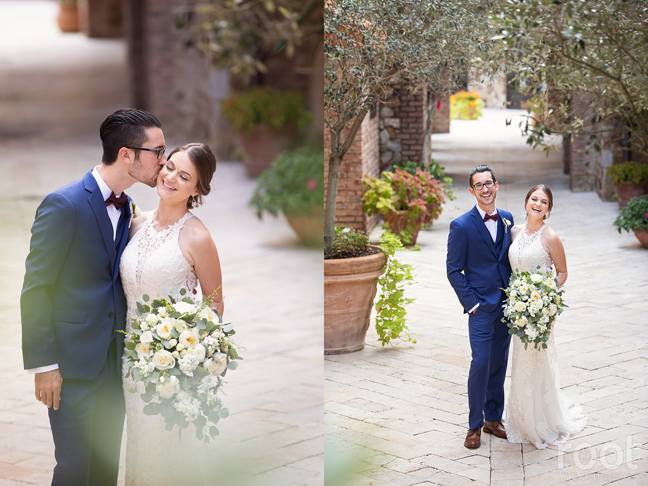 Wedding portraits at Bella Collina