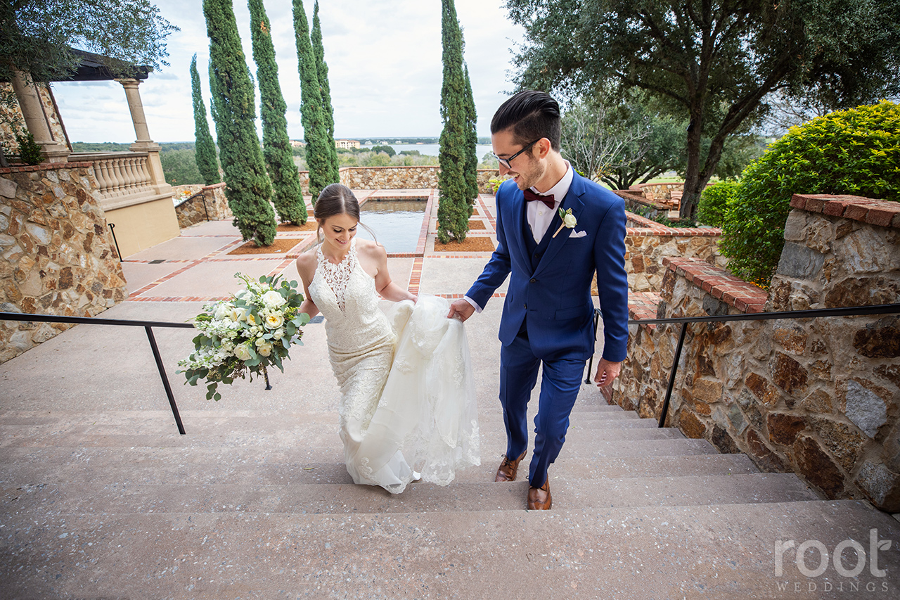 Wedding portraits at Bella Collina