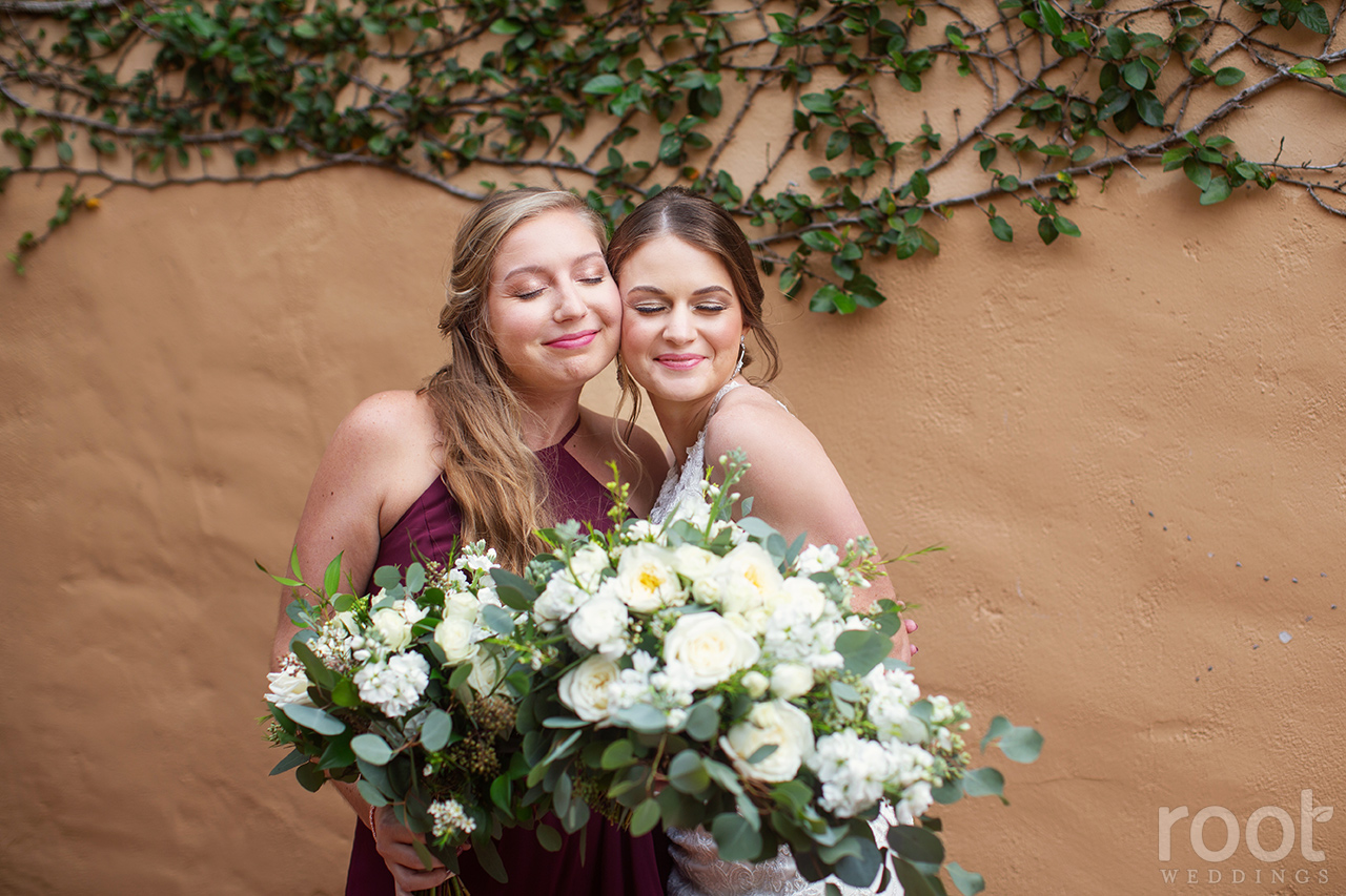 Bridesmaid photos at Bella Collina