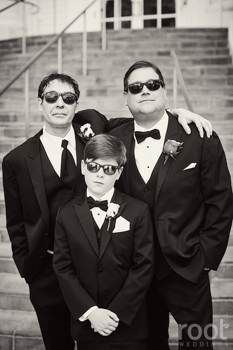 Groomsmen in glasses photos