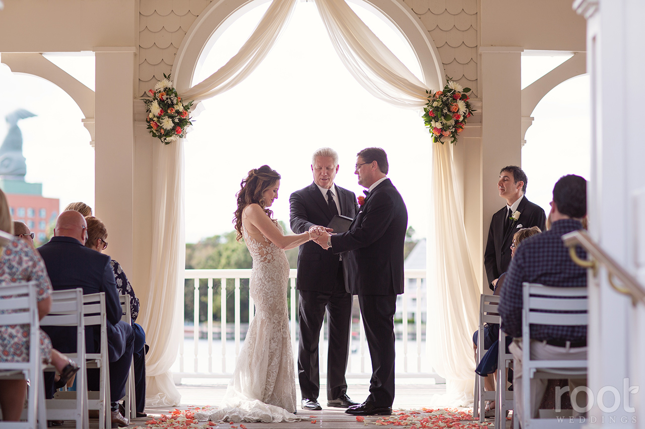 Disney Sea Breeze Point Wedding Ceremony