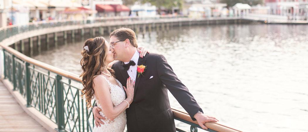 Tiffany + Sean : Wedding at Disney's Boardwalk Inn and Living Seas Salon