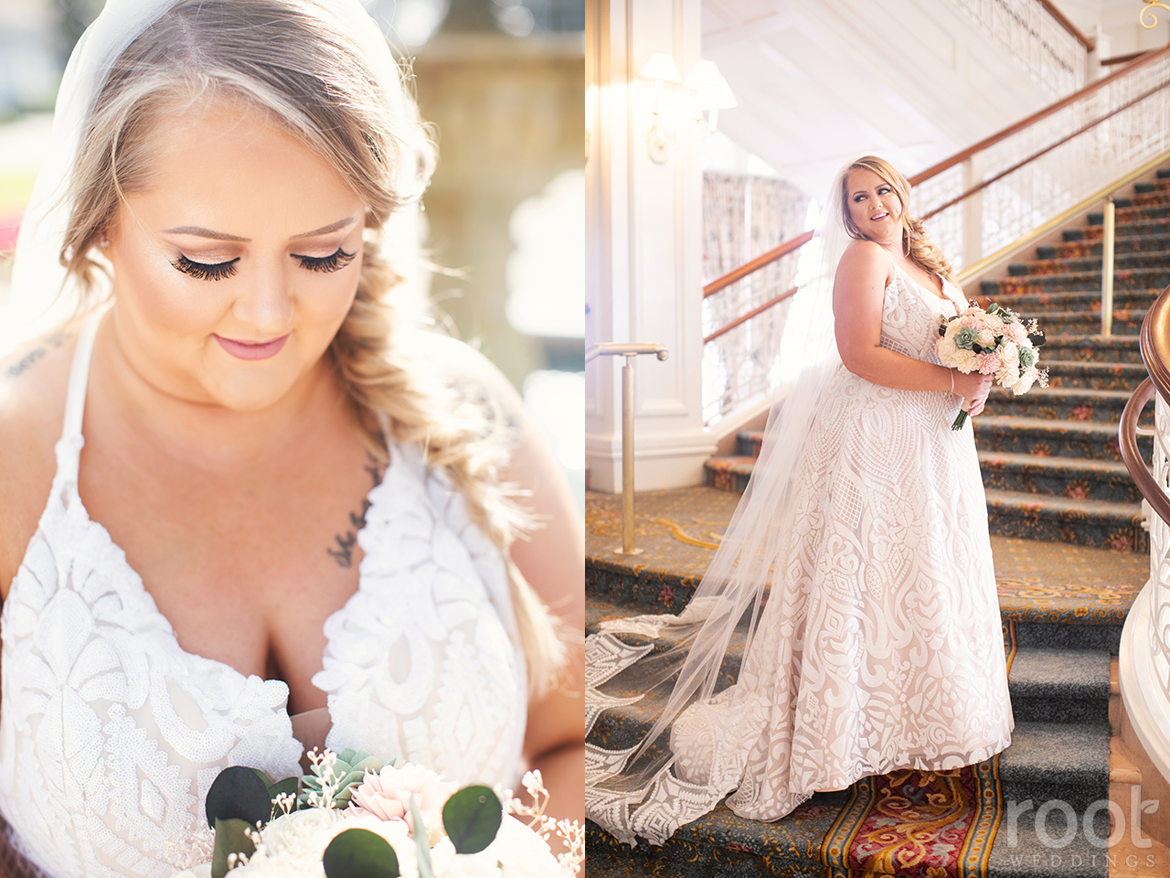 Miss Hayley Paige wedding gown