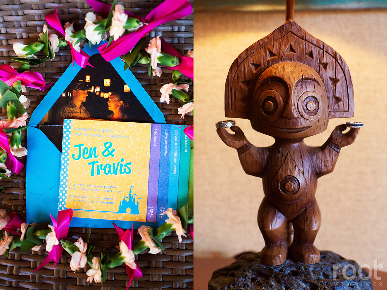 Vow renewal details at Disney's Polynesian Resort