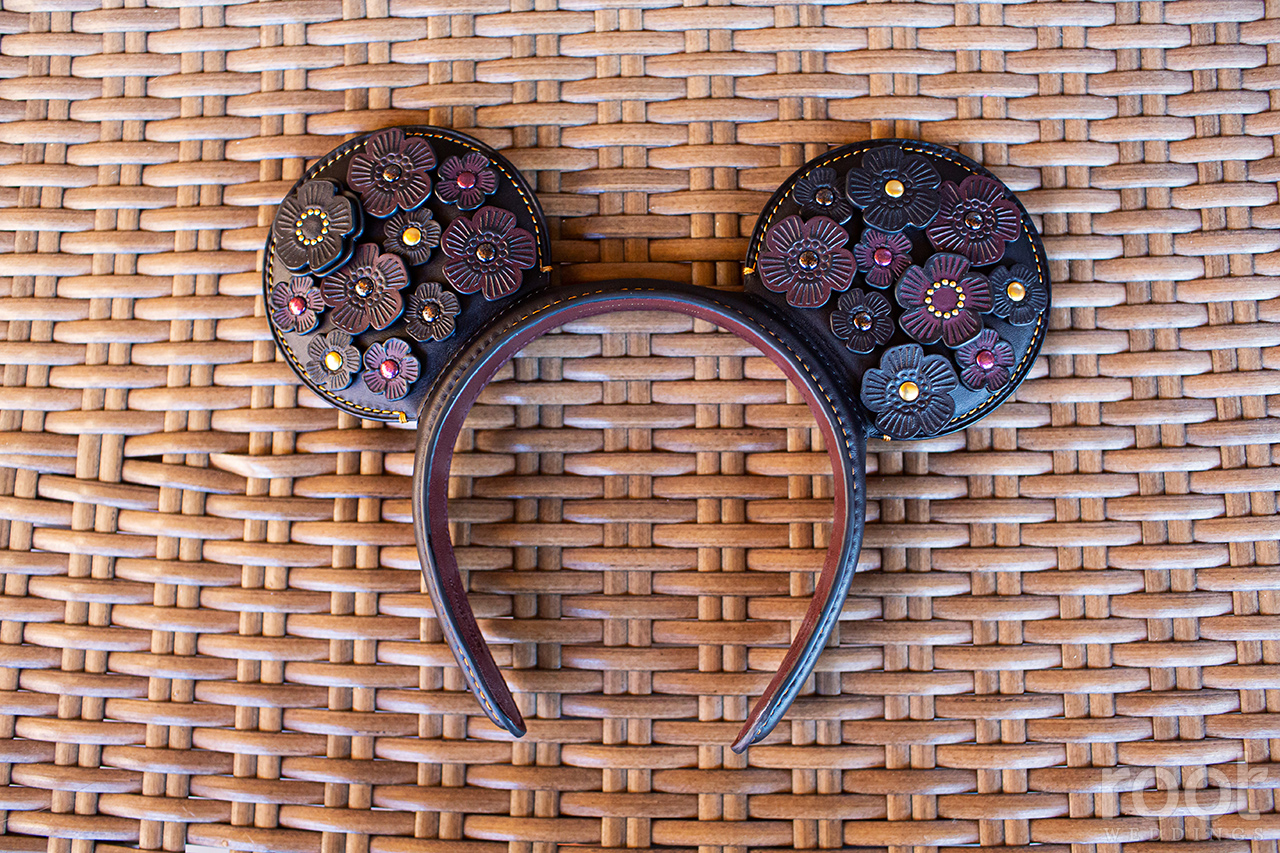COACH leather Mickey Mouse Ears