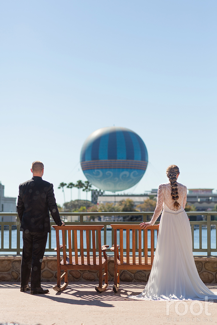 Disney's Sarasota Springs wedding photos