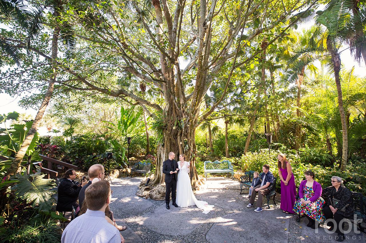 Vow renewal at Disney's Polynesian Resort