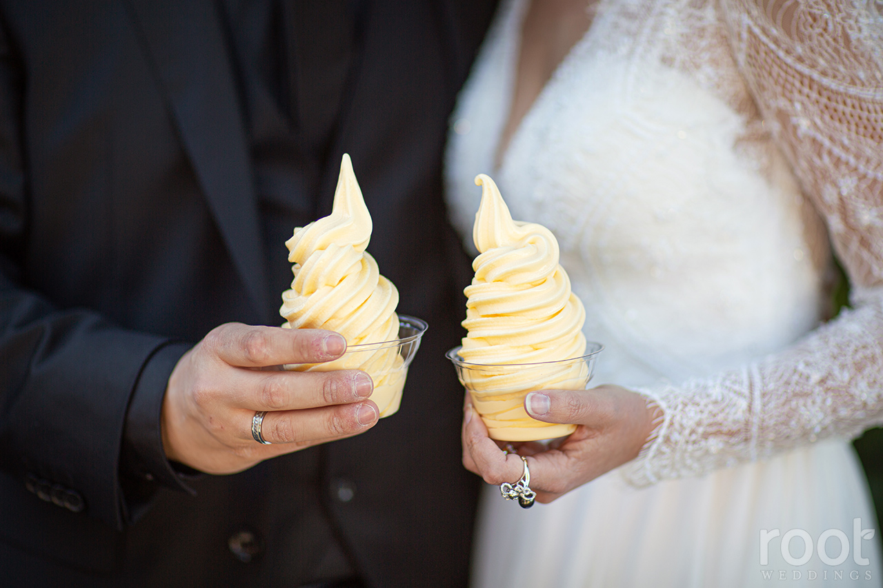 Disney wedding Dole Whips