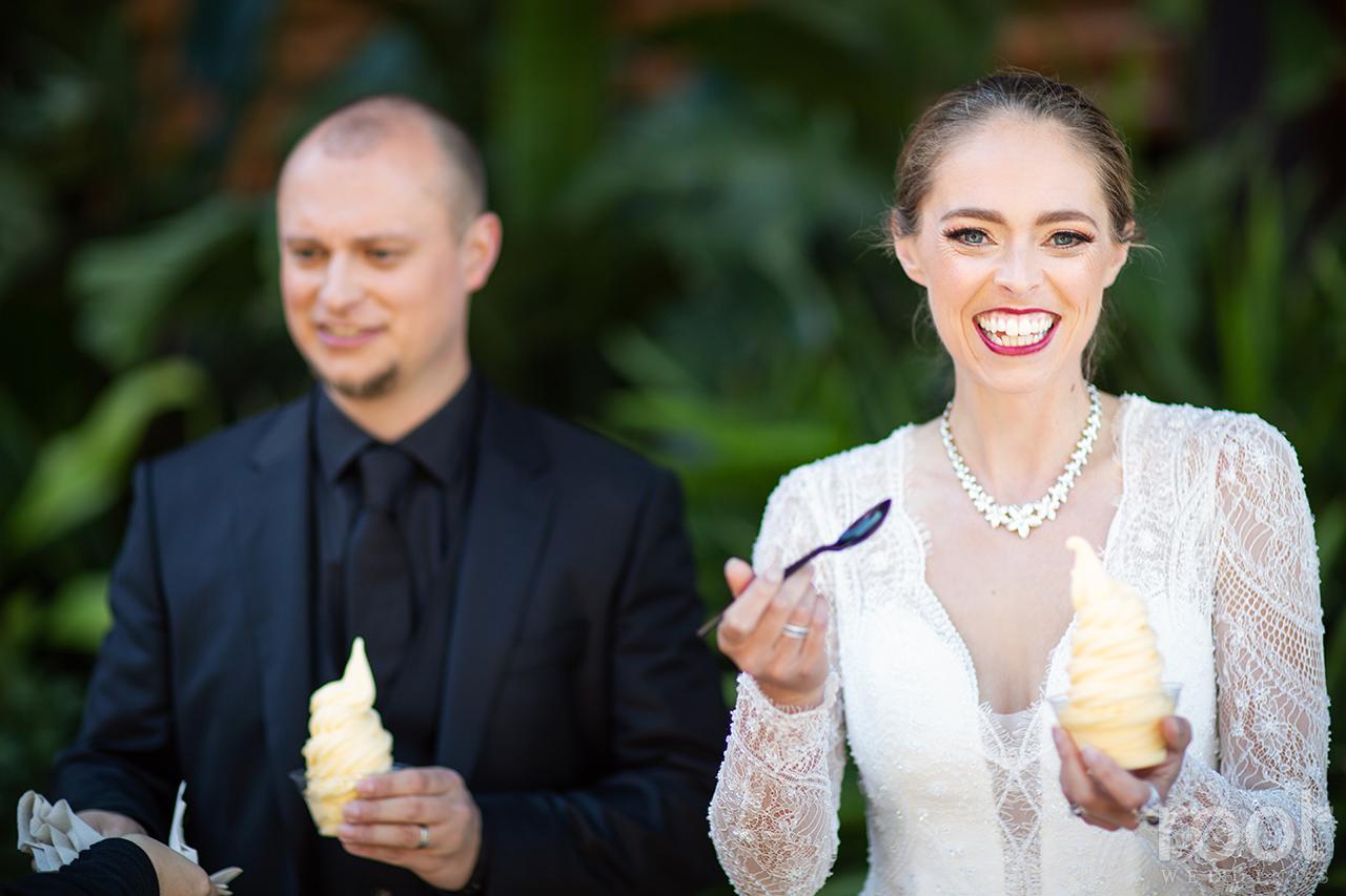 Disney wedding Dole Whips