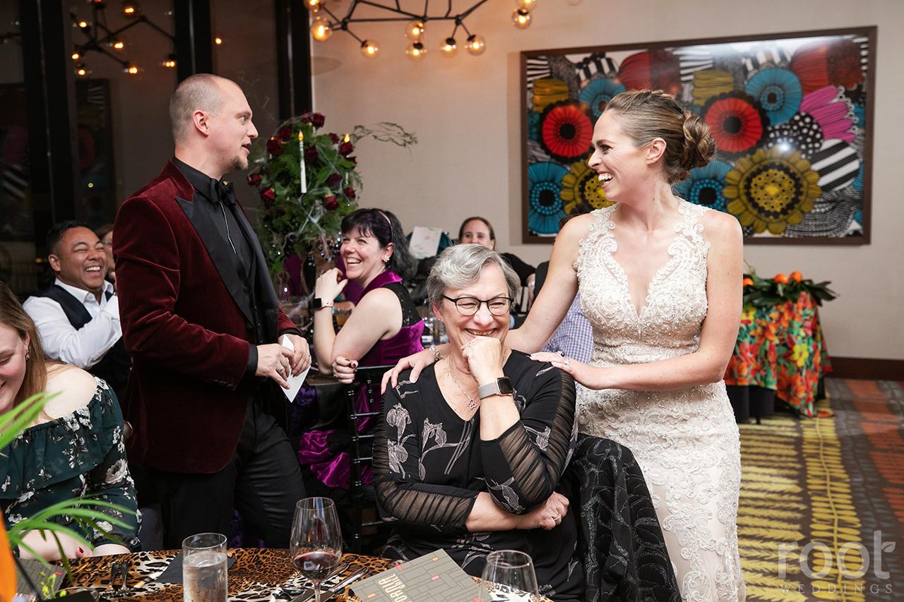 Wedding reception at the Napa Room California Grill