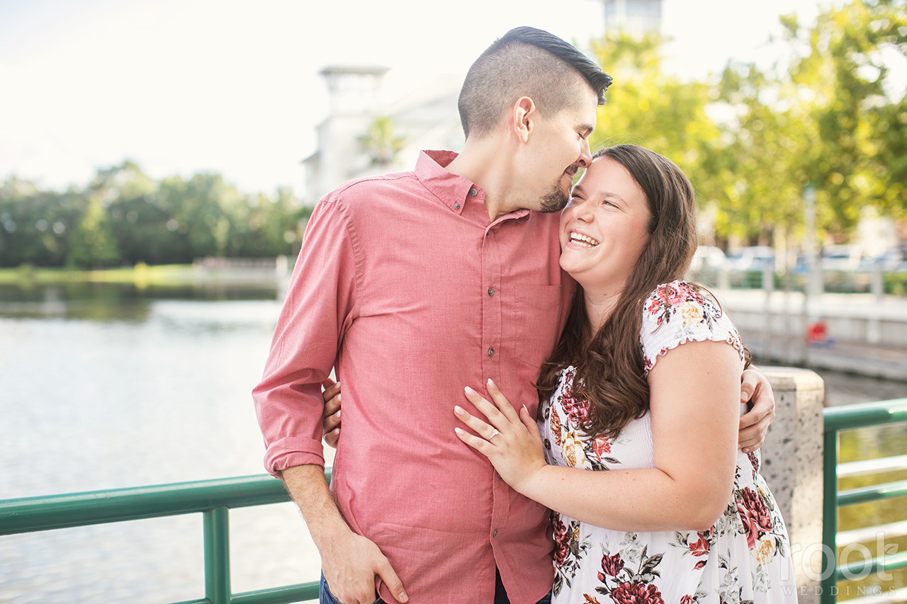 Downtown Celebration Engagement Session
